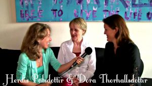 Dora Thorhallsdottir and Herdis Palsdottir- Raising children with unconditional love