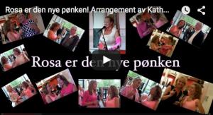 Rosa er den nye pønken! Arrangement av Kathrine Aspaas
