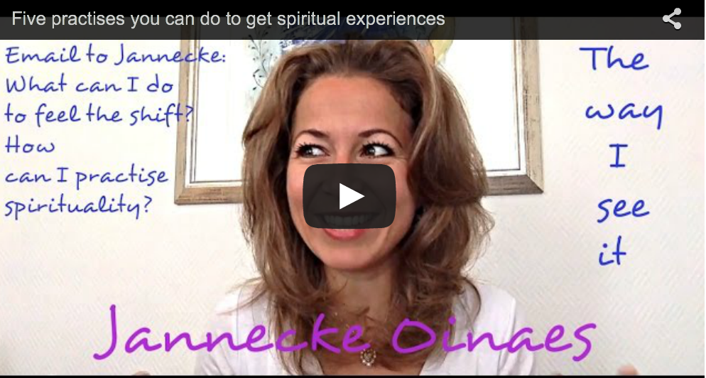 Five practises you can do to get spiritual experiences