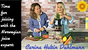Carina Hultin Dahlmann- Time to juice! Making a juice for the heart chakra