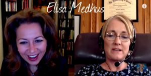Elisa Medhus -Talking to her son in the afterlife
