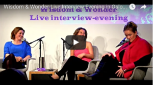 Wisdom & Wonder-Live Interview Evening in Oslo (English subtitles)