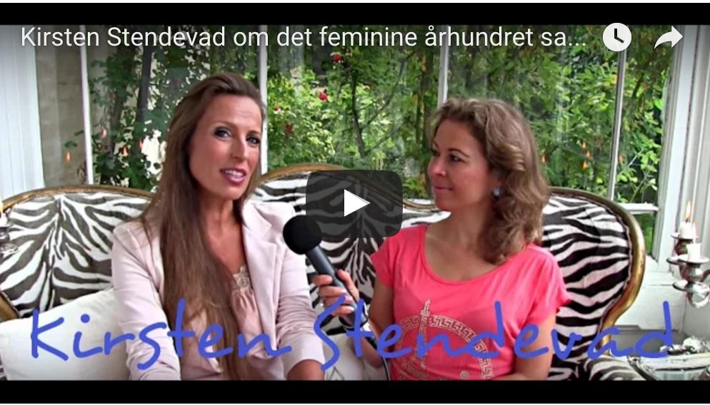 Kirsten Stendevad om det feminine århundret samt hennes møte med sorg