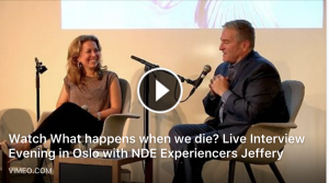 What happens when we die? Full video from Live Evening in Oslo