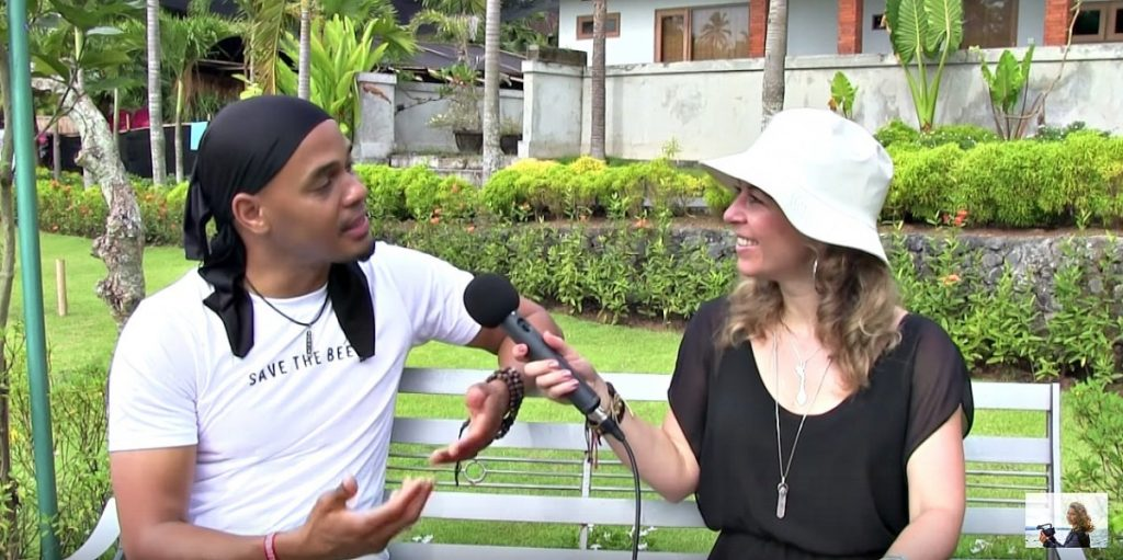 """Reassigning energy through Yoga-Tyrone Beverly on his work with """"Im'Unique"""", Bali"""